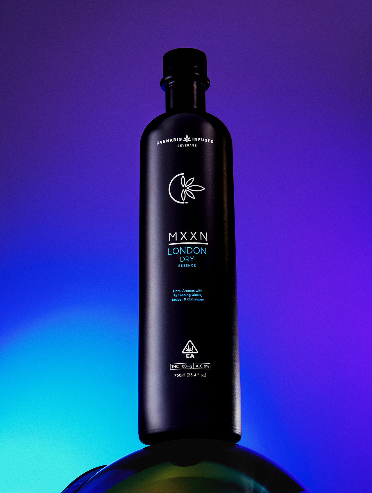 MXXN London Dry: THC-Infused, Alcohol-Free Spirit